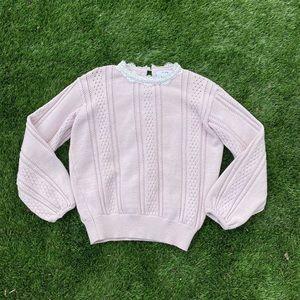 vintage sweater 🐰